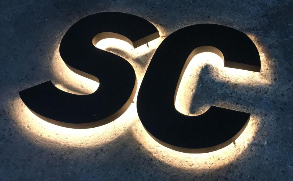 Werbetechnik Led Buchstaben Leucht Reklame Werbung Aussenwerbung